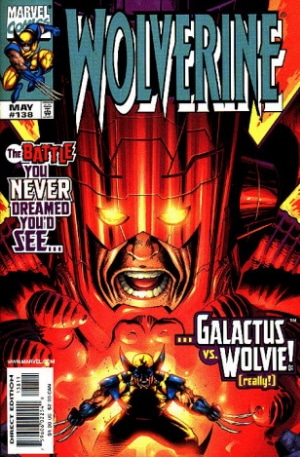 Wolverine contra Galactus: saga The Great Scape